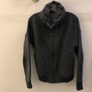 Lululemon charcoal gray jacket, sz 12, 69649